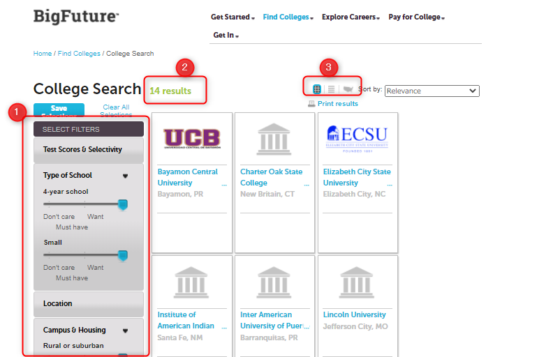 アメリカ大学探し方サイト